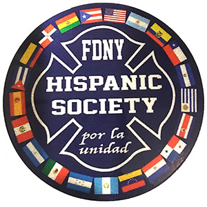 Hispanic Society 3x3 Reflective Decal