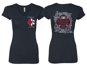 Ladies Hispanic Society T-Shirt