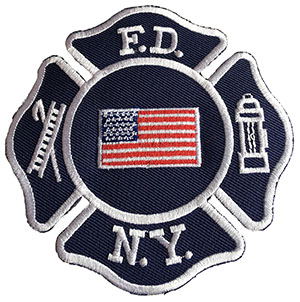 FDNY American Flag Patch